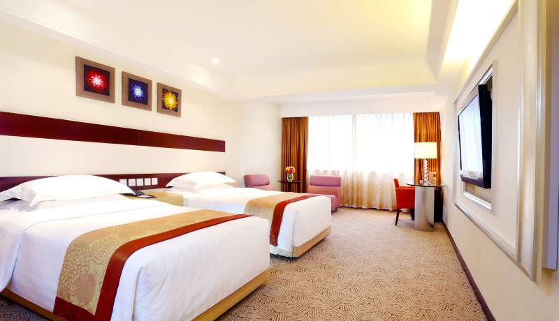 高級豪華客房 –雙床